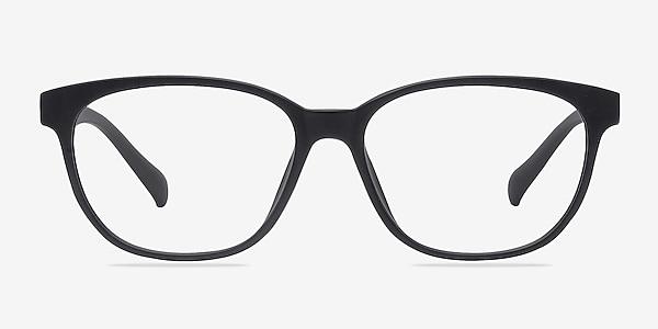 Moody Matte Black Plastique Montures de lunettes de vue