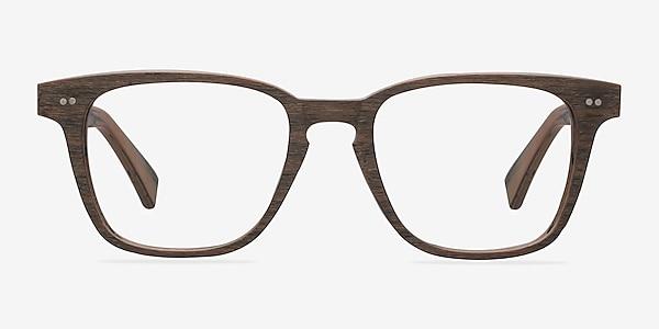 Samson  Brown Striped  Acetate Eyeglass Frames