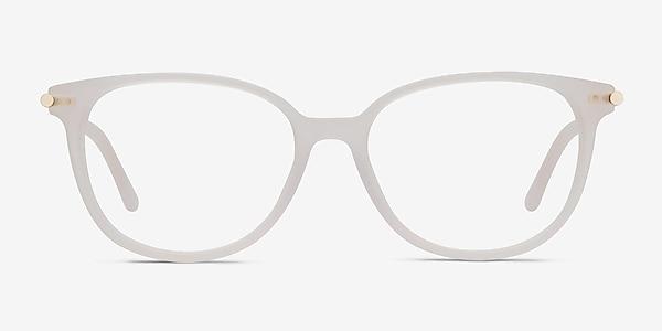 Jasmine Blanc Acétate Montures de lunettes de vue