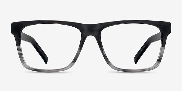 Pioneer Gray Acetate Eyeglass Frames