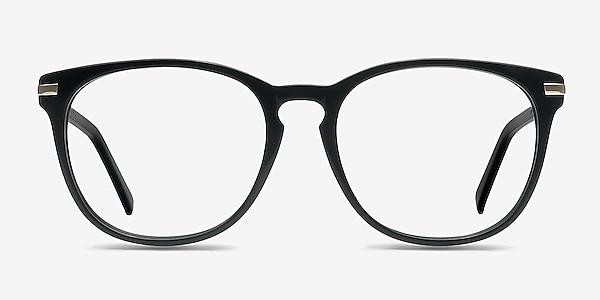 Decadence Black Acetate-metal Eyeglass Frames