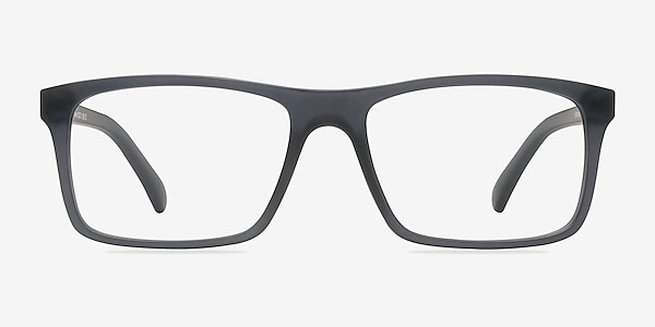 Persian Matte Gray Plastic Eyeglass Frames