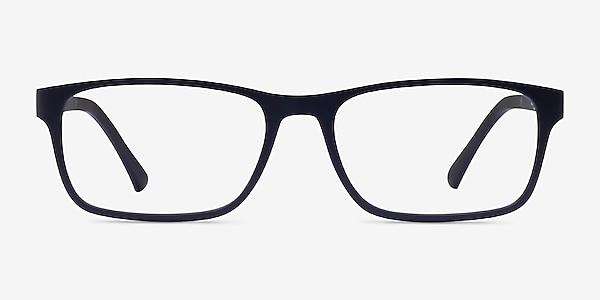 Firefly Matte Navy Plastic Eyeglass Frames