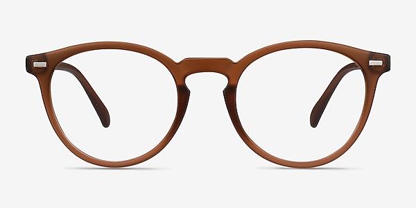 Peninsula Matte Redwood Plastic Eyeglass Frames