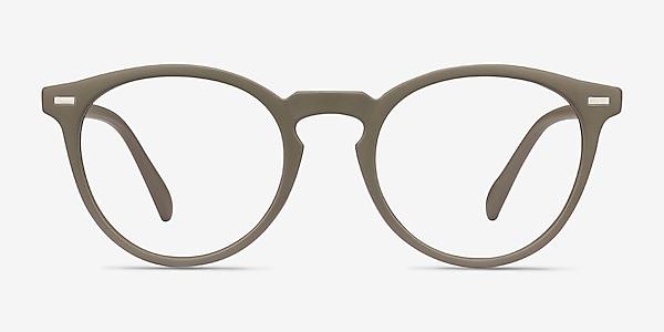 Peninsula Matte Green Plastic Eyeglass Frames
