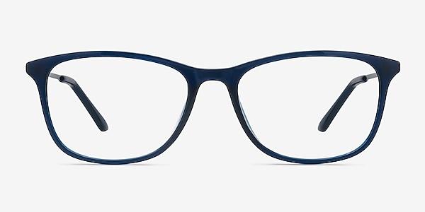 Oliver Navy Plastic Eyeglass Frames