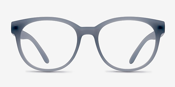 Grace Matte Blue Plastic Eyeglass Frames