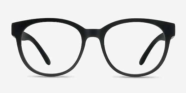 Grace Matte Black Plastique Montures de lunettes de vue