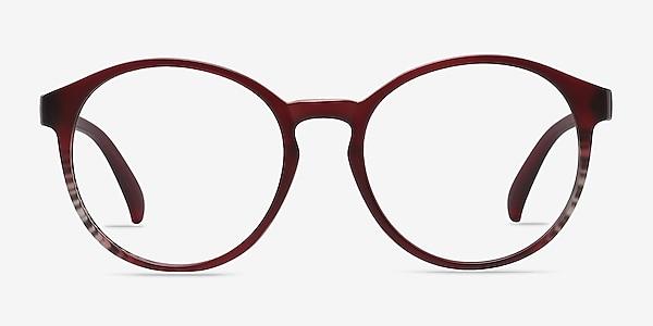 Delaware Matte Burgundy Plastique Montures de lunettes de vue