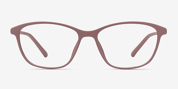 District Matte Pink Plastic Eyeglass Frames