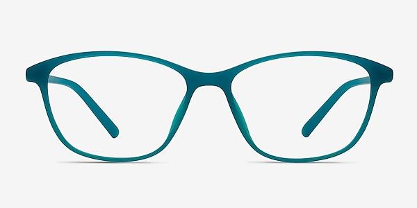 District Vert Mat Plastique Montures de lunettes de vue