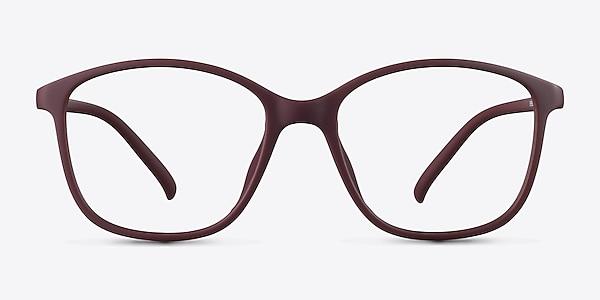Saint Lou Burgundy Plastic Eyeglass Frames