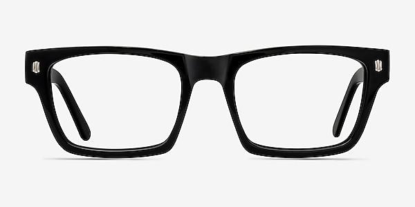 Mike Noir Acétate Montures de lunettes de vue
