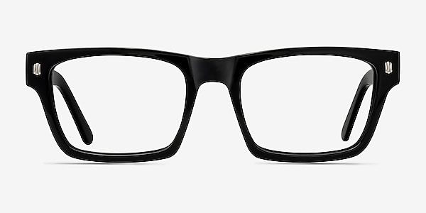 Mike Black Acetate Eyeglass Frames