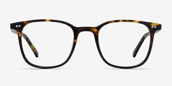 Sequence Amber Tortoise Acetate Eyeglass Frames