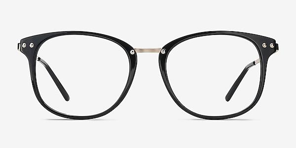 Cosmo Black Plastic-metal Eyeglass Frames