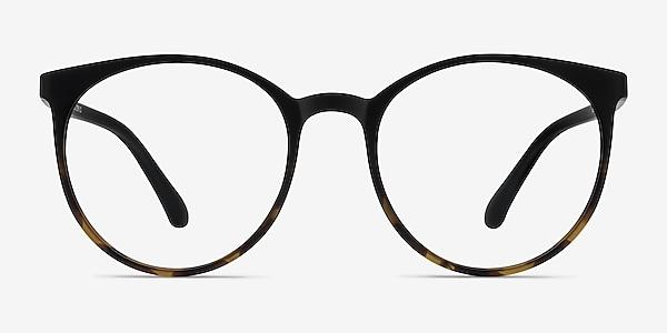 Portrait Black Tortoise Plastic Eyeglass Frames