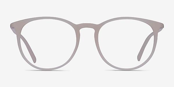 Dialogue Matte Clear Plastique Montures de lunettes de vue