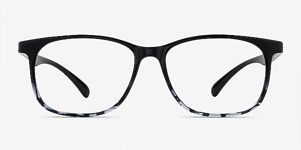 Character Black Navy Plastique Montures de lunettes de vue