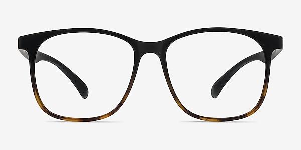 Character Black Tortoise Plastic Eyeglass Frames