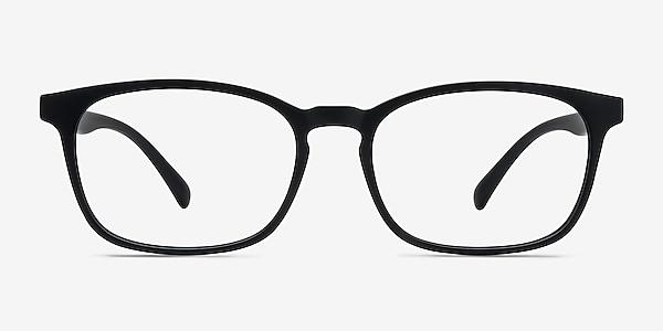Forest Matte Black Plastique Montures de lunettes de vue
