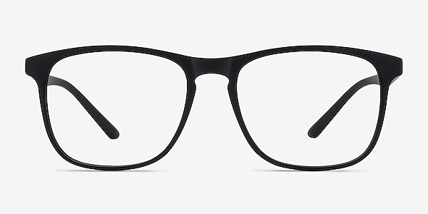 Ghent Matte Black Plastique Montures de lunettes de vue
