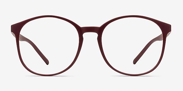 Days Matte Red Plastic Eyeglass Frames