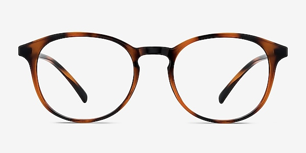 Brace Tortoise Plastic Eyeglass Frames