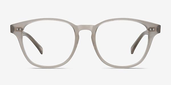 Lucid Clear Gray Acetate Eyeglass Frames