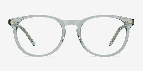 Aura Clear Jade Acétate Montures de lunettes de vue