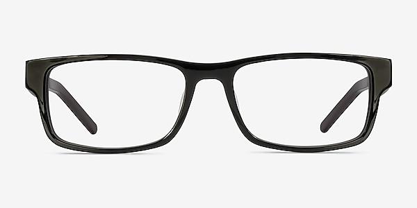 Aidan Noir Acétate Montures de lunettes de vue