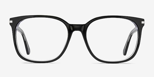 Absolutely Black Acetate Eyeglass Frames