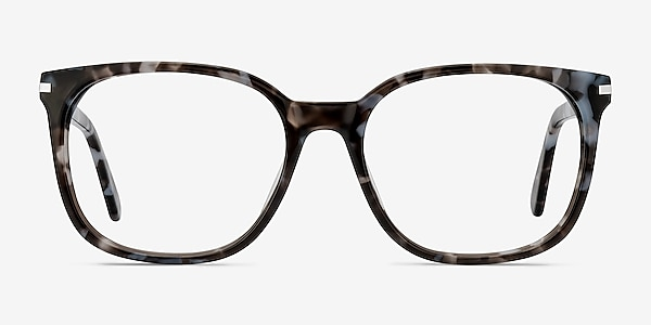 Absolutely Gray Floral Acétate Montures de lunettes de vue