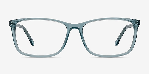Constellation Clear Blue Acetate Eyeglass Frames