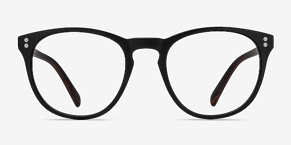 Legendary Black & Brown Plastic Eyeglass Frames