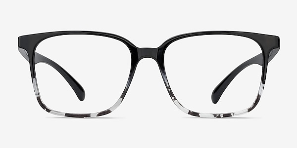 Blocks Black Clear Plastic Eyeglass Frames