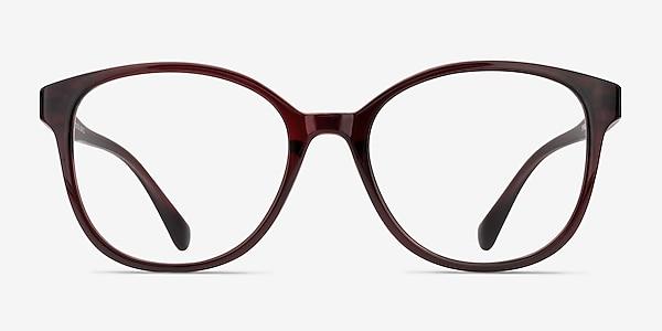 The Beat Burgundy Plastique Montures de lunettes de vue