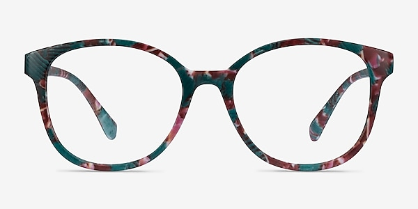 The Beat Floral Plastic Eyeglass Frames