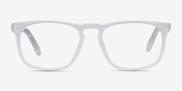 Rhode Island Matte Clear Acétate Montures de lunettes de vue