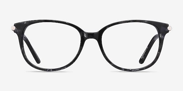 Jasmine Gray Floral Acétate Montures de lunettes de vue