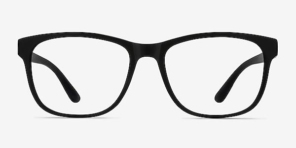 Milo Matte Black Plastique Montures de lunettes de vue