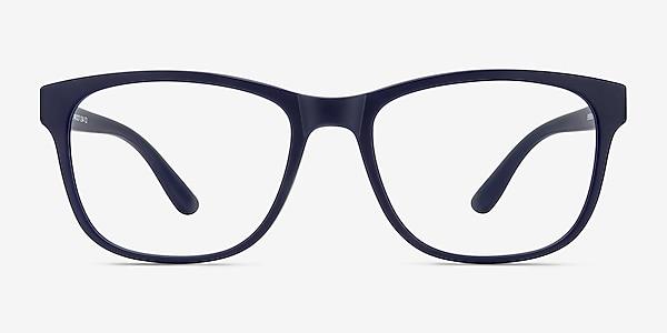Milo Matte Navy Plastique Montures de lunettes de vue