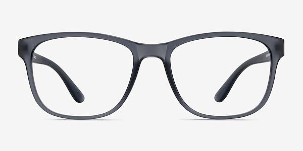Milo Matte Gray Plastique Montures de lunettes de vue