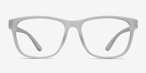 Milo Frosted Clear Plastique Montures de lunettes de vue