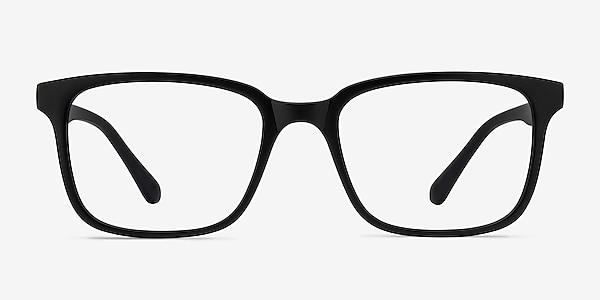 November Matte Black Plastic Eyeglass Frames