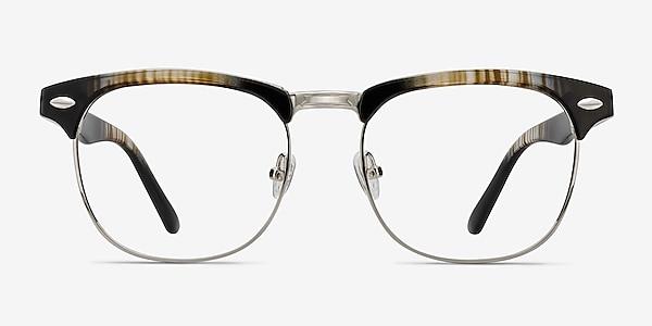 Coexist Rayures Plastic-metal Montures de lunettes de vue