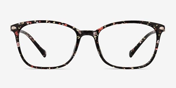 Nola Pink Floral Plastique Montures de lunettes de vue
