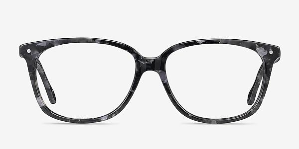 Escape Marbled Gray Acétate Montures de lunettes de vue