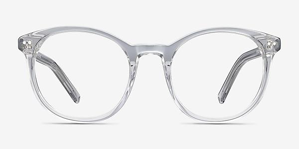 Primrose Gray Clear Acétate Montures de lunettes de vue