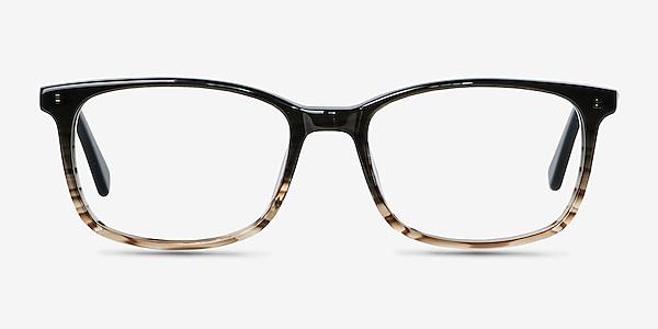 Botanist Gray Brown Acetate Eyeglass Frames